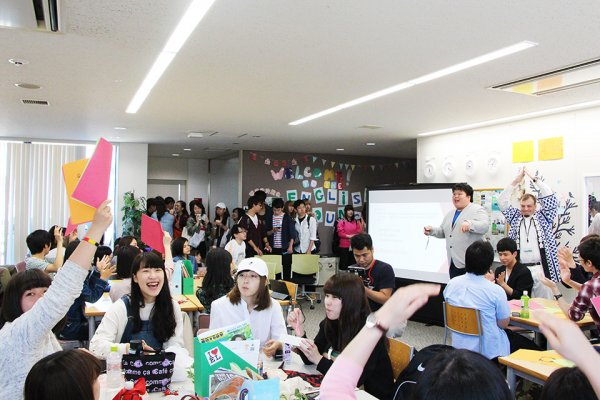 東洋学園大学_English Lounge_WelcomeEvent2016