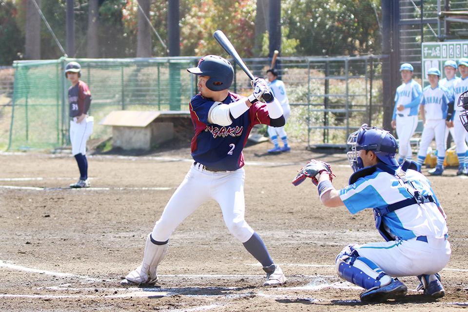 [硬式野球部]春季リーグ第二戦は1点届かず惜敗