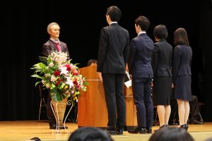 平成31年度入学式_新入生代表による宣誓