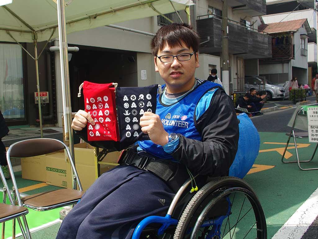 ボッチャサークル4年生が文京区のスポーツボランティアとして「文京さくらまつり」に参加