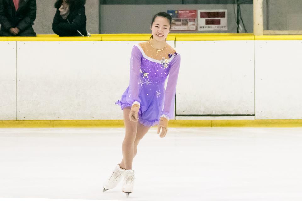 [スケート部]戸室選手が第47回関東学生フィギュアスケート選手権大会で女子6級9位
