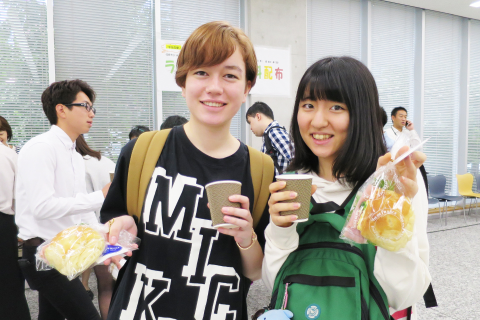 朝食配布も連日盛況。「学生の食生活応援プロジェクト」、次回は9月に開催予定