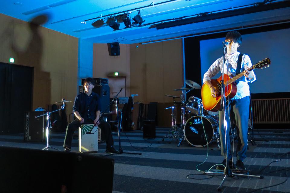 音楽系の公認団体が競演!「Heavenly Gospel Team」「作詞作曲同好会」「Rhyme」合同ライブの模様