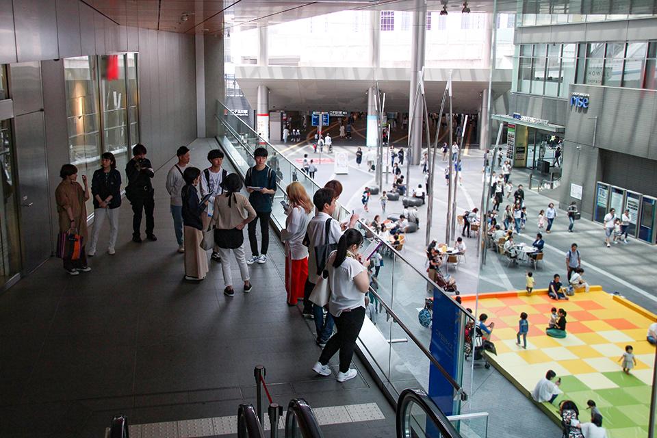 八塩ゼミ×(株)東急モールズデベロップメント、ショッピングセンター視察を実施