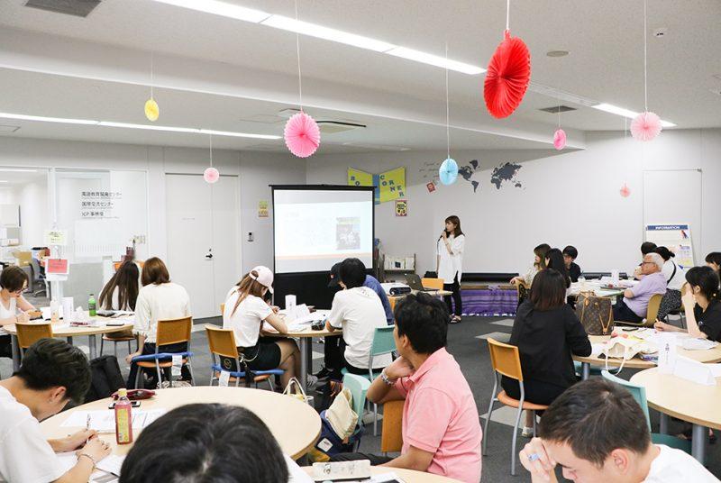 夏期短期留学プログラムの帰国者報告会を開催