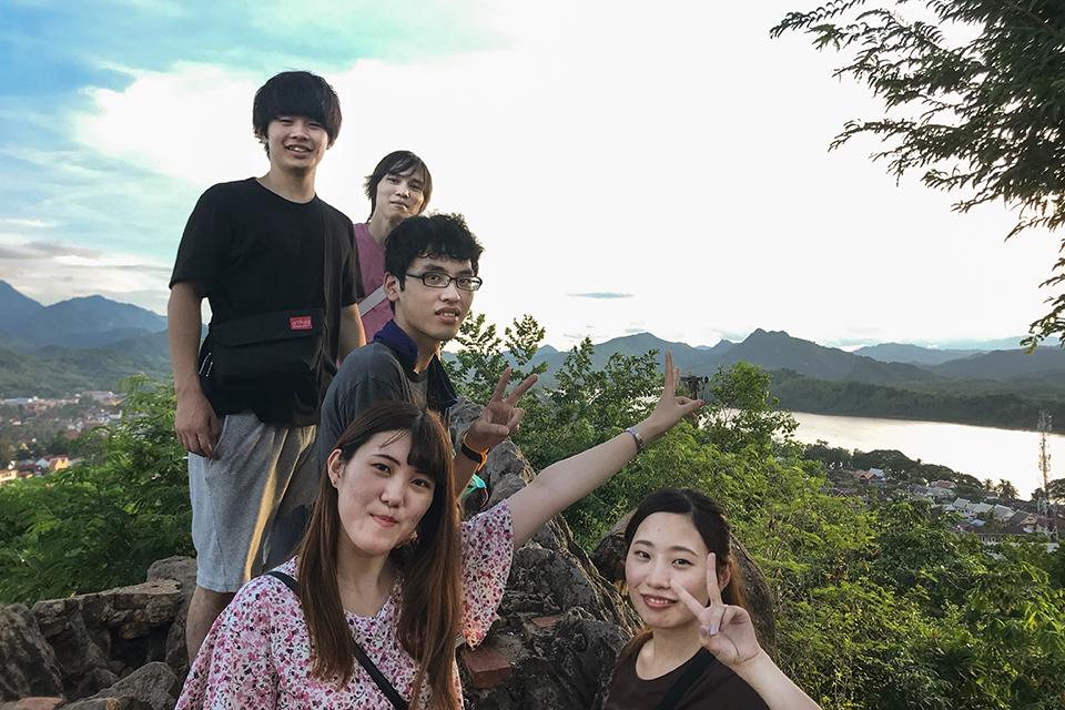 「エコ・ツーリズム論」がラオス・タイでフィールドワーク