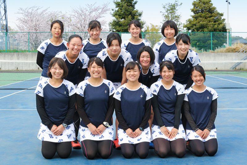[テニス部]女子は3位で惜しくも入替戦進出ならず。関東大学テニスリーグ(3部)