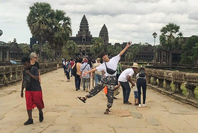 夏期短期留学プログラム(カンボジアインターンシップ)報告