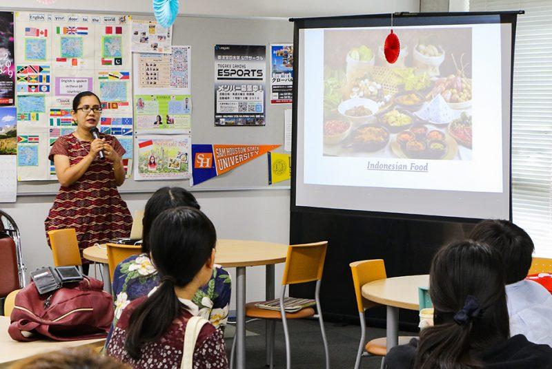 [English Lounge]インドネシアの食について英語で学ぶ!Lounge Event開催報告
