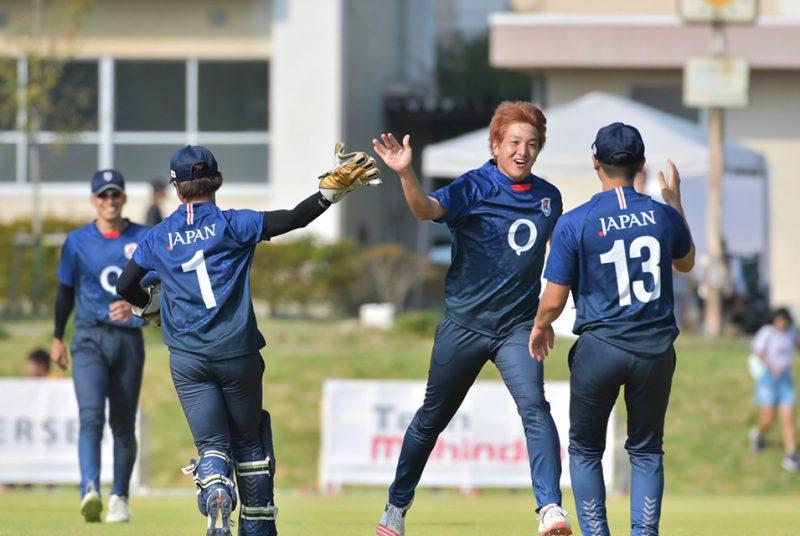 クリケット日本代表の富澤選手(4年)がエンバシーカップの決勝戦MVPに!