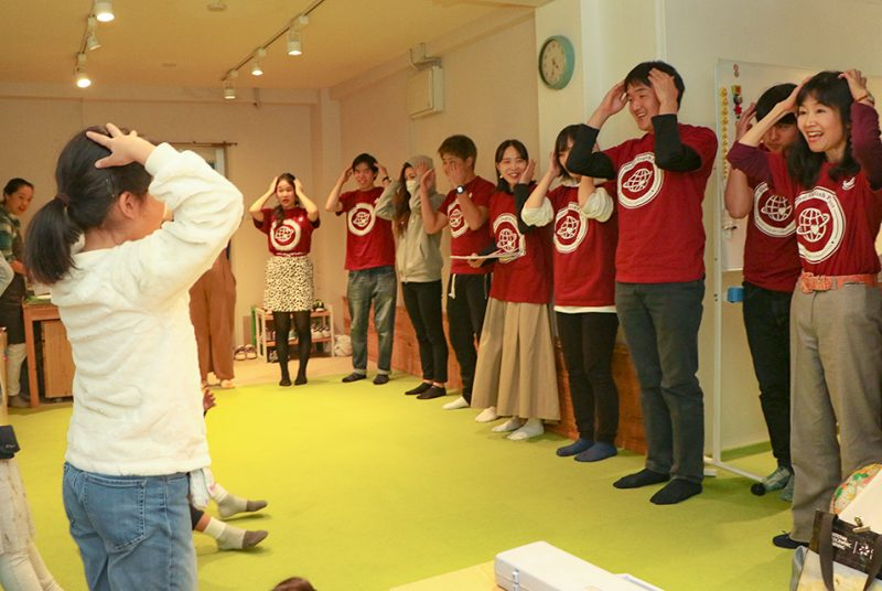 坂本ゼミが地元の学童保育で「グローバル英語体験」を実施