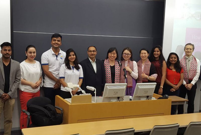 東洋学園大学大学院とネパール・キングス・カレッジが 双方交流型の合同リサーチプロジェクトを実施