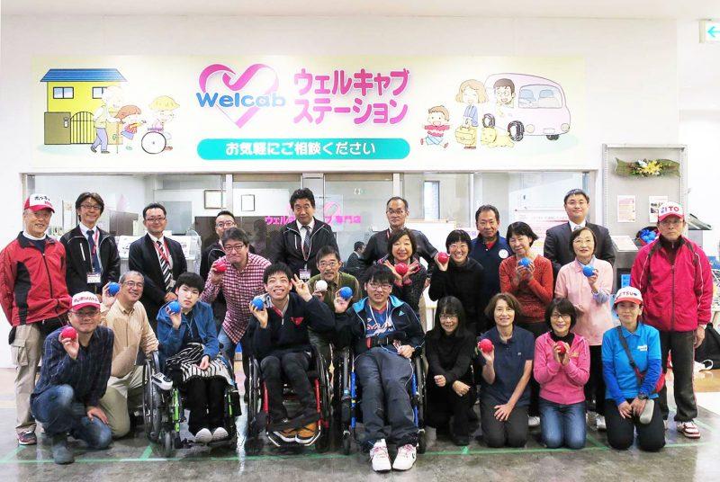 [学生団体]「TOGAKUパラスポーツ」部員がボッチャ普及イベントに参加
