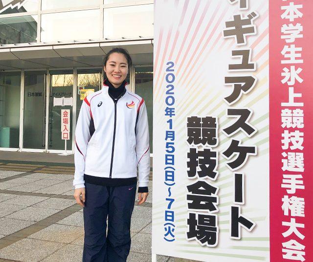 [スケート部]戸室選手が92回インカレ総合に出場!