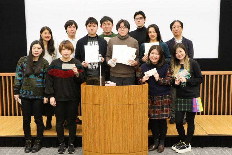 2019年度卒業論文発表会の模様(グローバル・コミュニケーション学部)