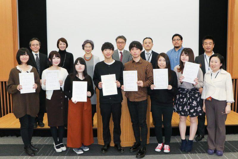 2019年度卒業論文発表会の模様(現代経営学部)