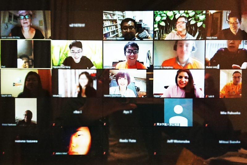 """オンラインでサム・ヒューストン州立大学の学生と交流!""""Virtual SHSUxTOGAKU""""イベント開催報告"""
