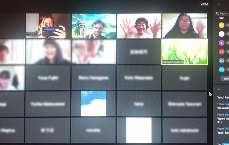 【English Lounge】インターンのMaslinと秋学期も会える!Virtual English Loungeを活用しよう