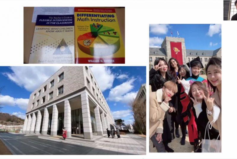 在学中からいくつもの留学プログラムに参加し、韓国の大学院に進学した卒業生と交流