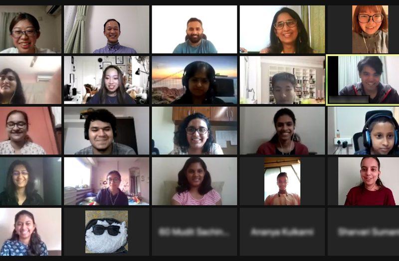 日本とインド、お互いの国の文化を紹介!ICP2年生とインドの大学生によるオンライン交流会