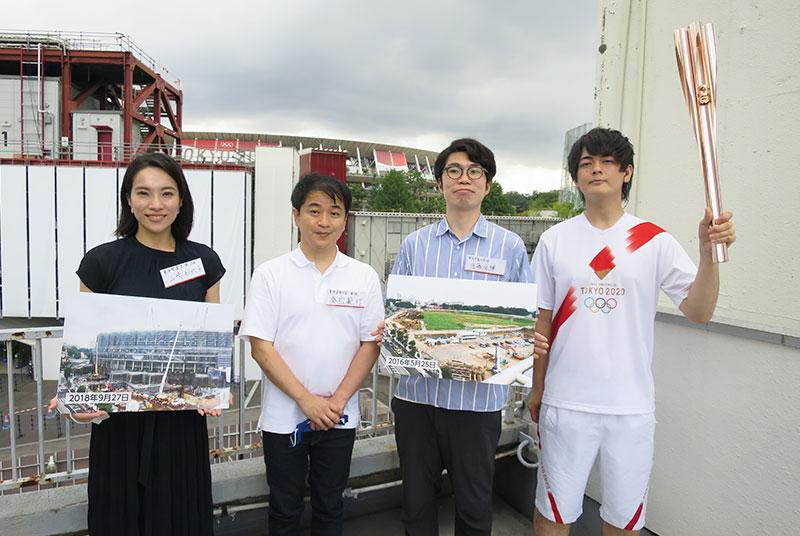 [TV]泰松教授と卒業生が中継で出演!NHK「あさナビ」で『新国立競技場建設 定点観測プロジェクト』を紹介。